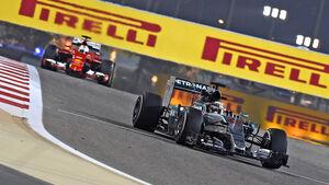 Hamilton & Vettel - Formel 1 - GP Bahrain - 18. April 2015
