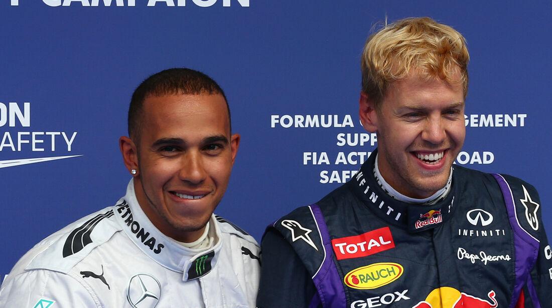 Hamilton & Vettel - Formel 1 - GP Belgien - Spa-Francorchamps - 24. August