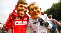 Hamilton & Vettel - Formel 1 - GP Belgien - Spa-Francorchamps - 26. August 2017
