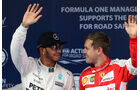 Hamilton & Vettel - Formel 1 - GP China - Shanghai - 11. April 2015