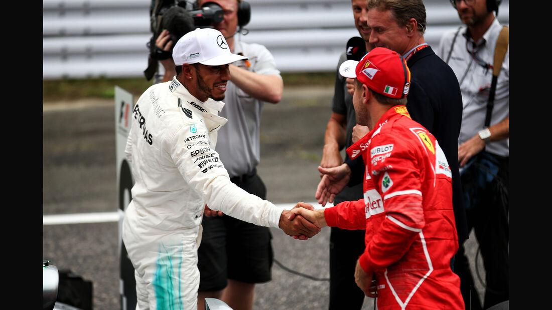 Hamilton & Vettel - Formel 1 - GP Japan - Suzuka - 7. Oktober 2017