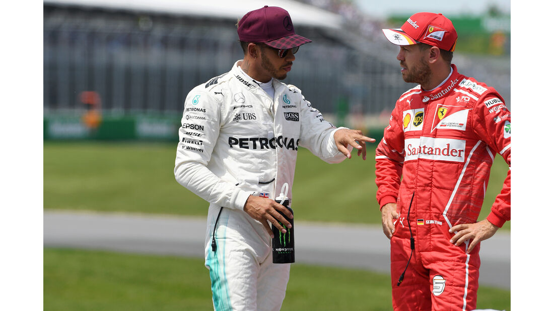 Hamilton & Vettel - Formel 1 - GP Kanada - Montreal - 10. Juni 2017