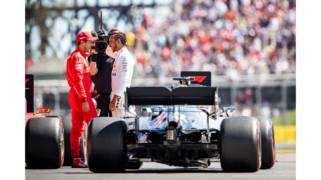 Hamilton & Vettel - Formel 1 - GP Kanada - Montreal - 8. Juni 2019