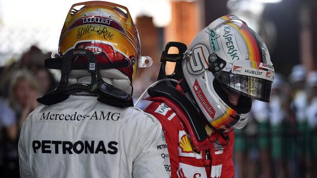 Hamilton & Vettel - GP Australien 2017