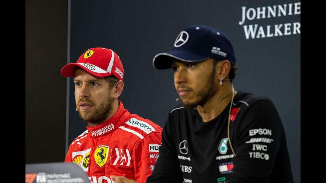 Hamilton & Vettel - GP Brasilien 2018