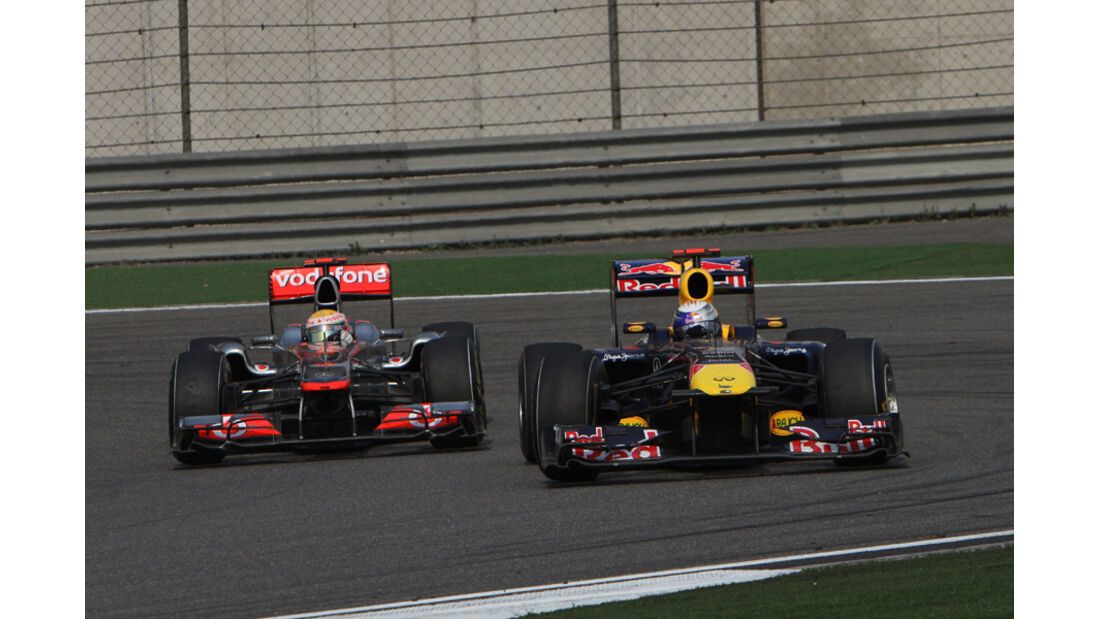 Hamilton Vettel GP China 2011
