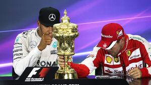 Hamilton & Vettel - GP England 2015