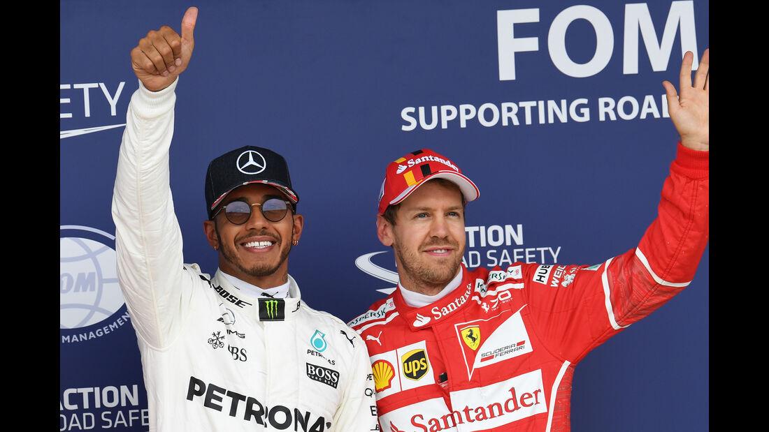 Hamilton & Vettel - GP England 2017