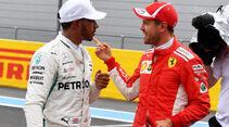 Hamilton& Vettel - GP Frankreich 2018