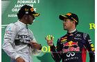 Hamilton & Vettel - GP Japan 2014