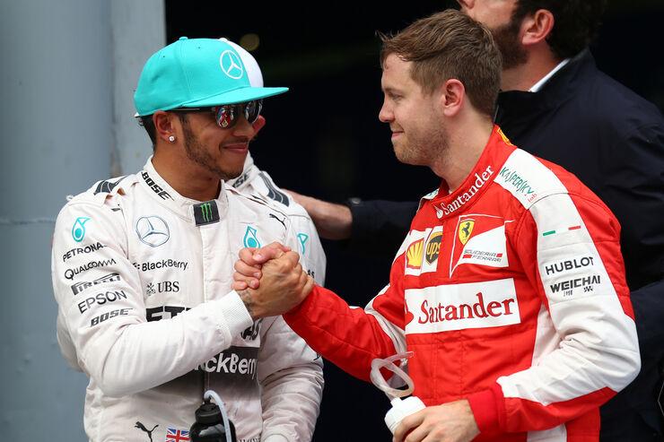 Hamilton & Vettel - GP Malaysia 2015