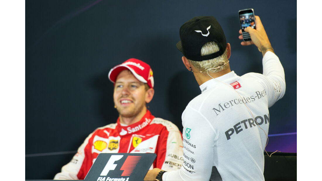 Hamilton & Vettel - GP Russland 2015