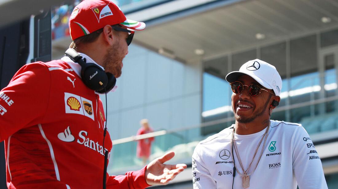 Hamilton & Vettel - GP Russland 2017
