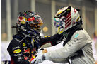 Hamilton & Vettel - GP Singapur 2014