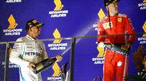 Hamilton & Vettel - GP Singapur 2018