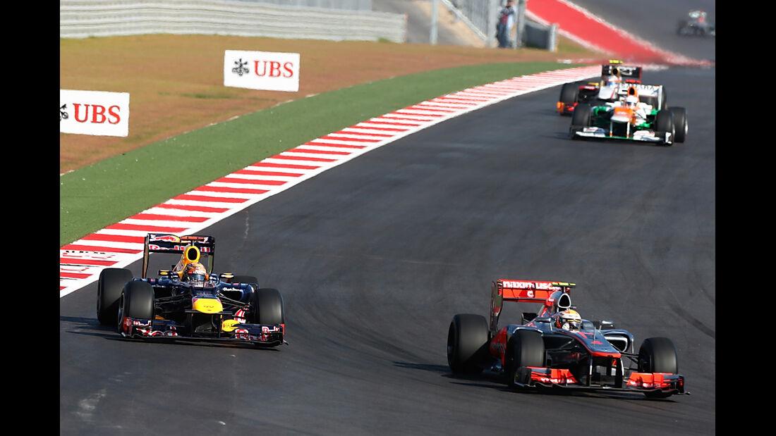 Hamilton Vettel GP USA 2012