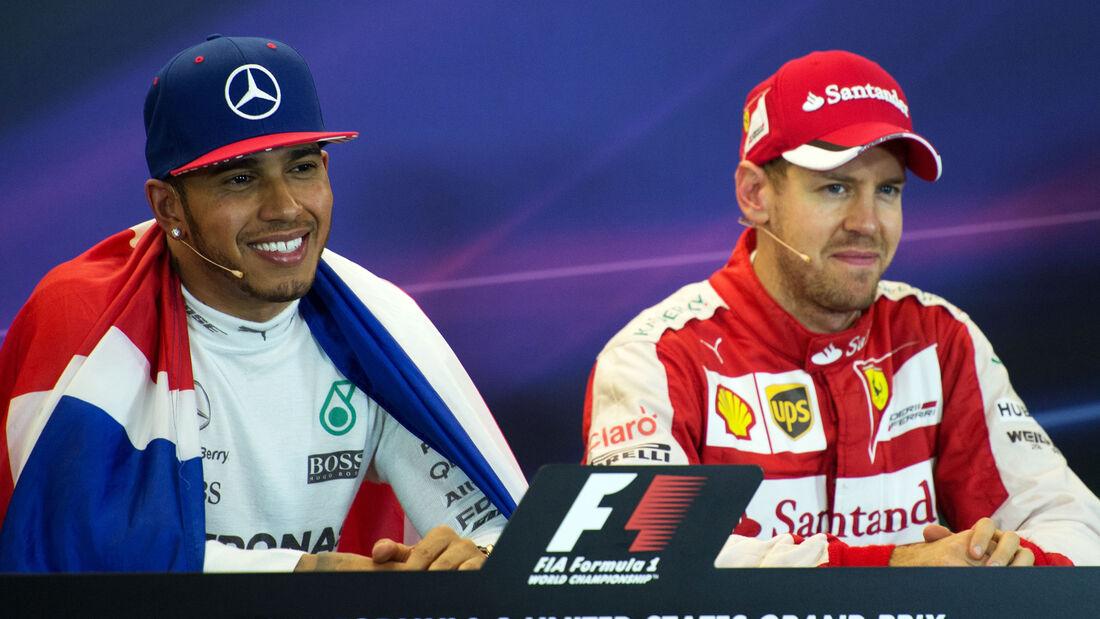 Hamilton & Vettel - GP USA 2015