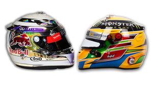 Hamilton Vettel Helm 2013