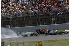 Hamilton, Vettel & Rosberg - GP Spanien 2013
