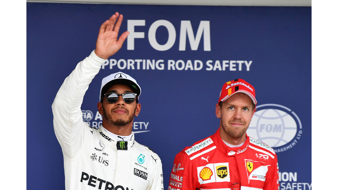 Hamilton & Vettel - Stats - GP Japan 2017