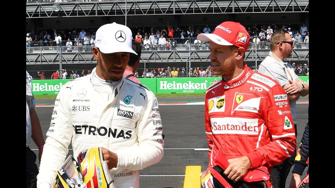 Hamilton & Vettel - Stats - GP Mexiko 2017