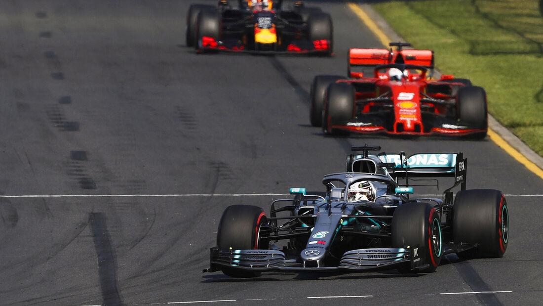 Hamilton - Vettel - Verstappen - GP Australien 2019 - Melbourne