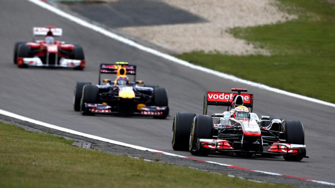 Hamilton, Webber & Alonso