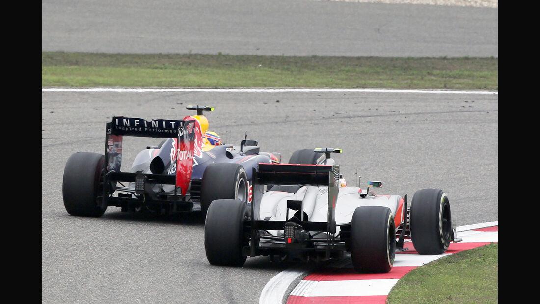 Hamilton Webber GP China 2012