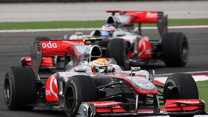 Hamilton gegen Button