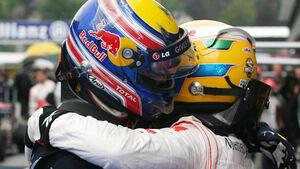 Hamilton und Webber