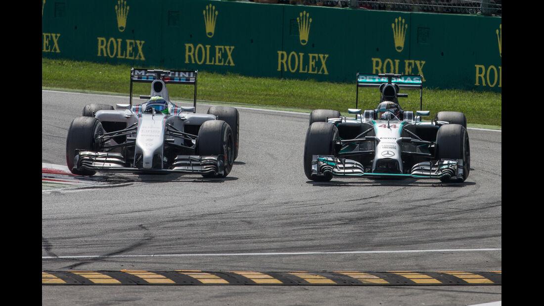 Hamilton vs. Massa - GP Italien 2014