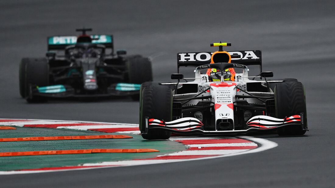 Hamilton vs. Perez - Formel 1 - GP Türkei 2021