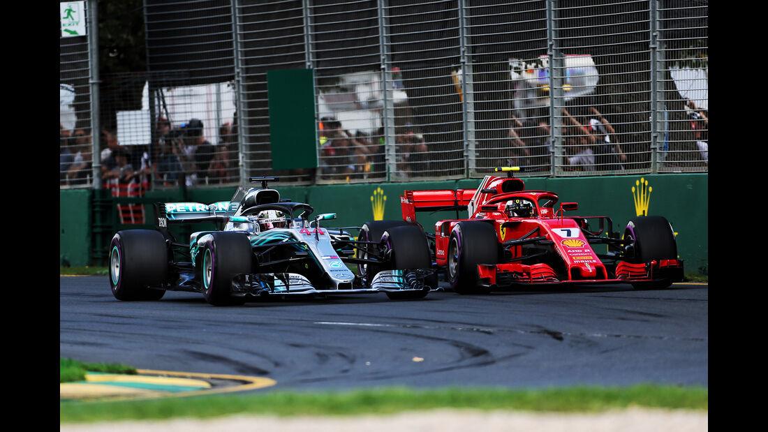 Hamilton vs. Räikkönen - GP Australien 2018