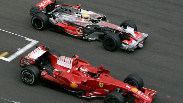 Hamilton vs. Räikkönen - GP Belgien 2008