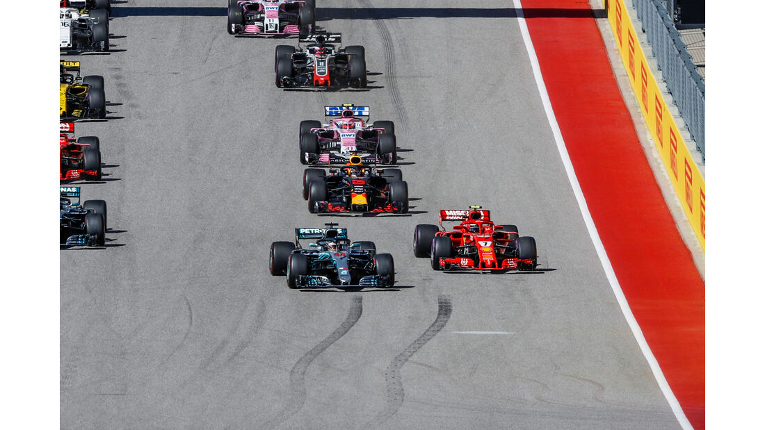 Hamilton vs. Räikkönen - GP USA 2018
