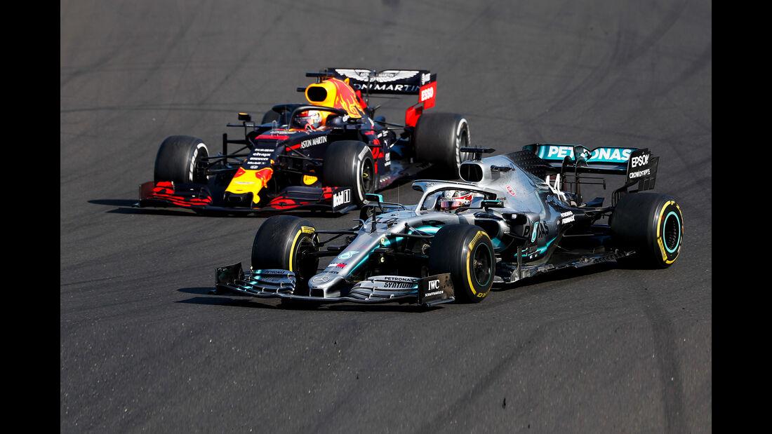 Hamilton vs. Verstappen - Formel 1 - GP Ungarn 2019