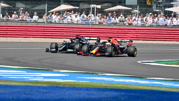 Hamilton vs. Verstappen - Formel 1 - Silverstone - GP England 2021