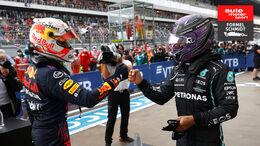 Hamilton vs. Verstappen  -GP Russland 2021 - Formel Schmidt Teaser