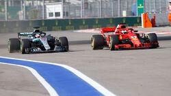 Hamilton vs. Vettel - GP Russland 2018