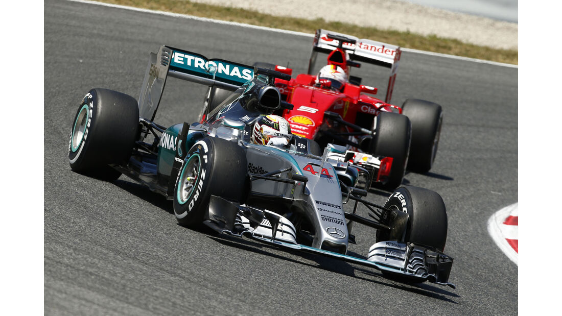 Hamilton vs. Vettel - GP Spanien 2015