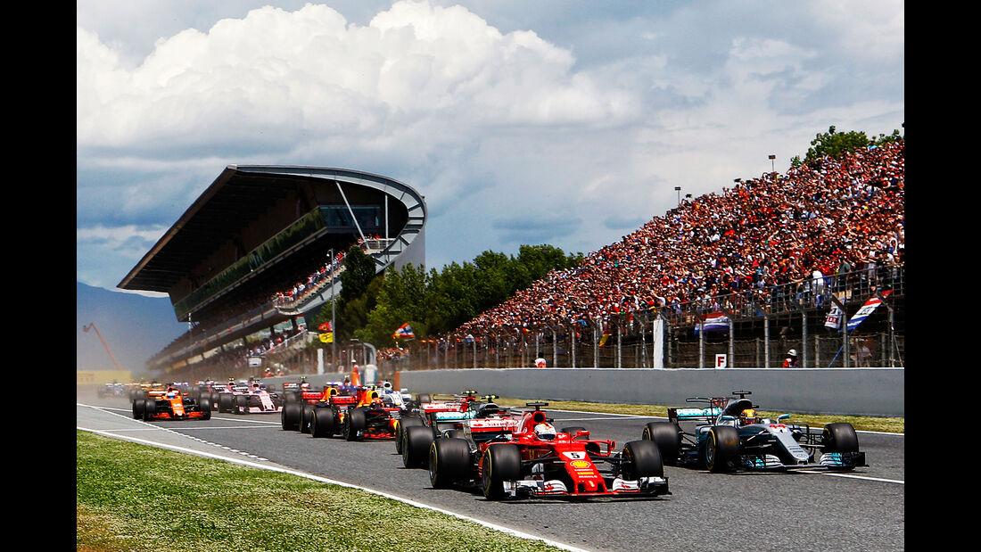 Hamilton vs. Vettel - GP Spanien 2017