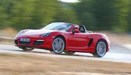 Handlingtest, Porsche Boxster S
