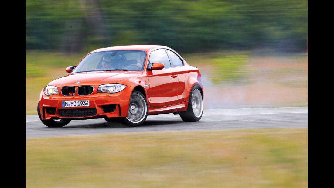 Handlingvergleich, BMW Einser M Coupe
