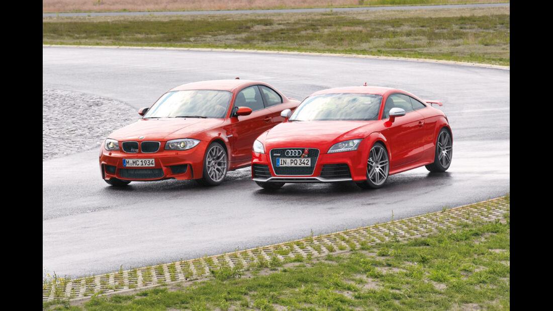 Handlingvergleich, BMW TT RS, Audi TT RS