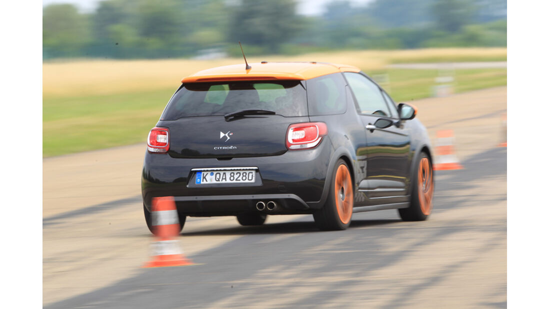 Handlingvergleich, Citroen DS3 Racing