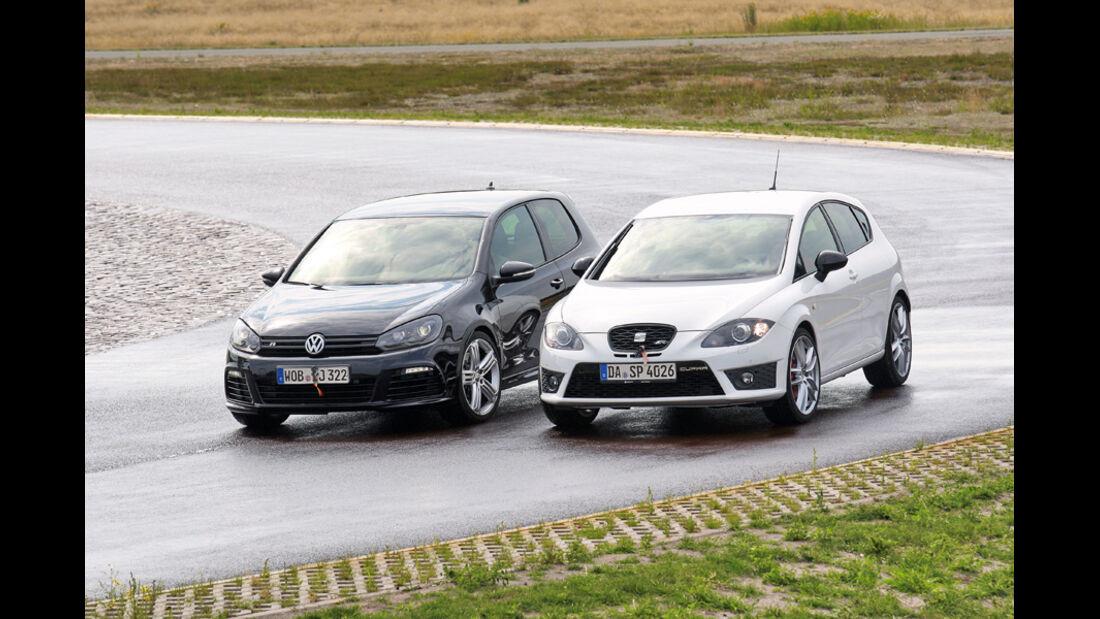 Handlingvergleich, Seat Leon Cupra R, VW Golf R