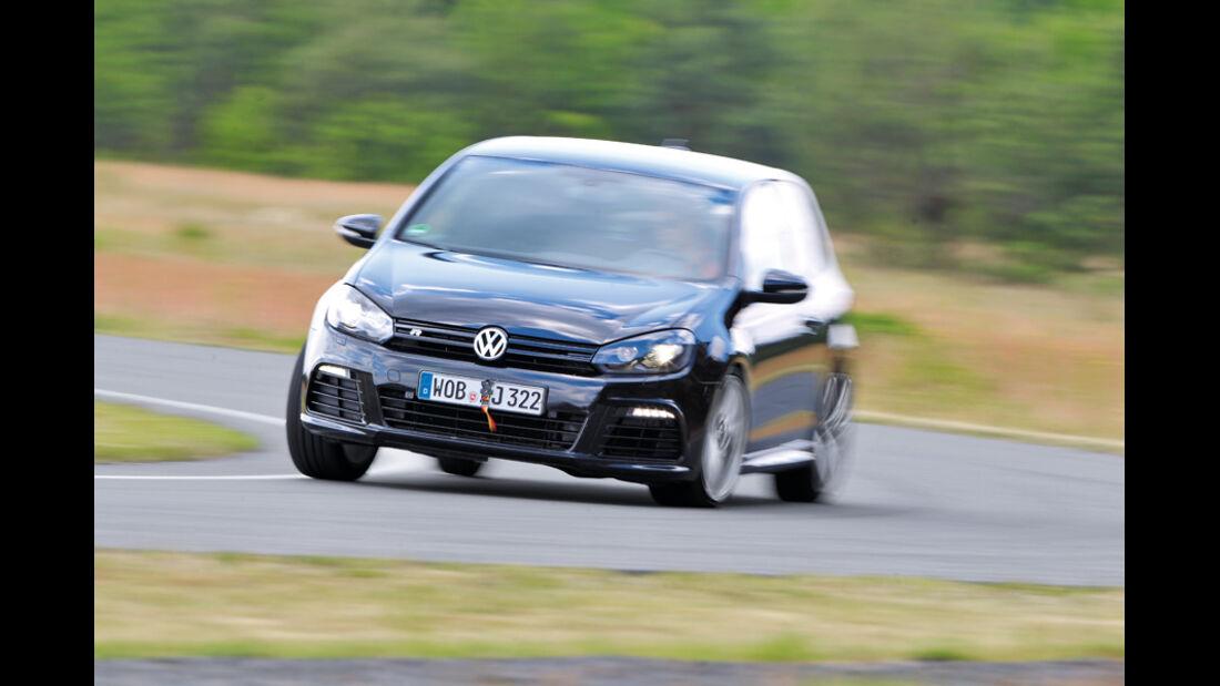 Handlingvergleich, VW Golf R