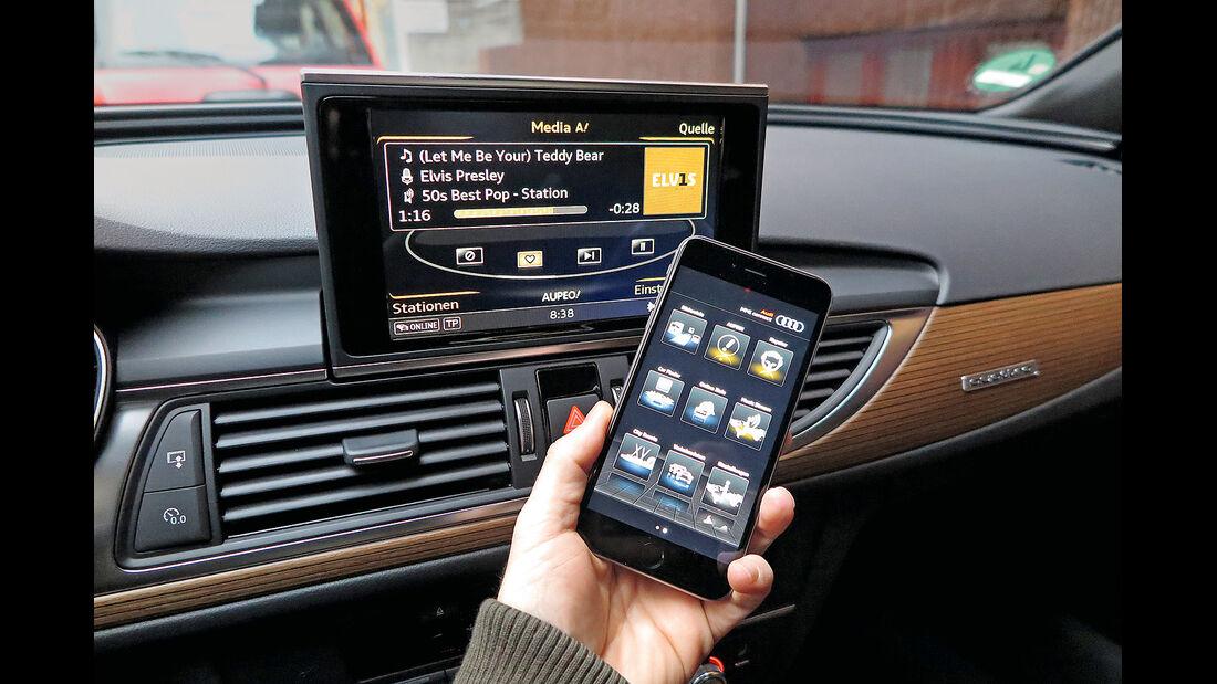 Handy-Anbindung im Audi A6