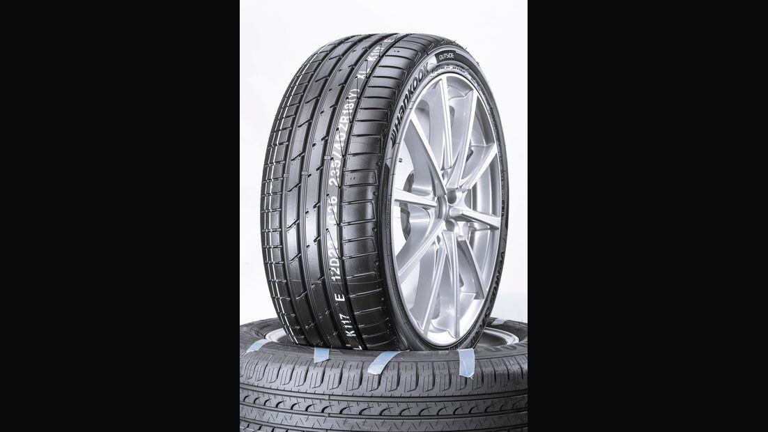 Hankook Ventus S1 evo², Sommerreifen-Test 2016, Reifengröße 235/40 R18 Y, Ford Focus ST, Test