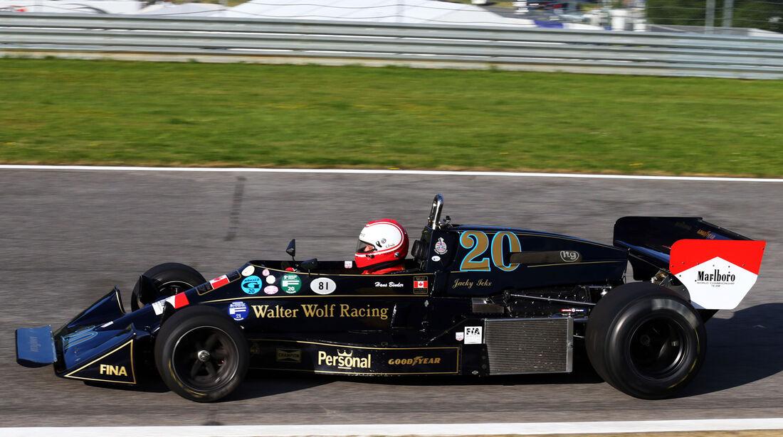 Hans Binder - Wolf-Williams FW05 - GP Österreich 2014 - Legenden
